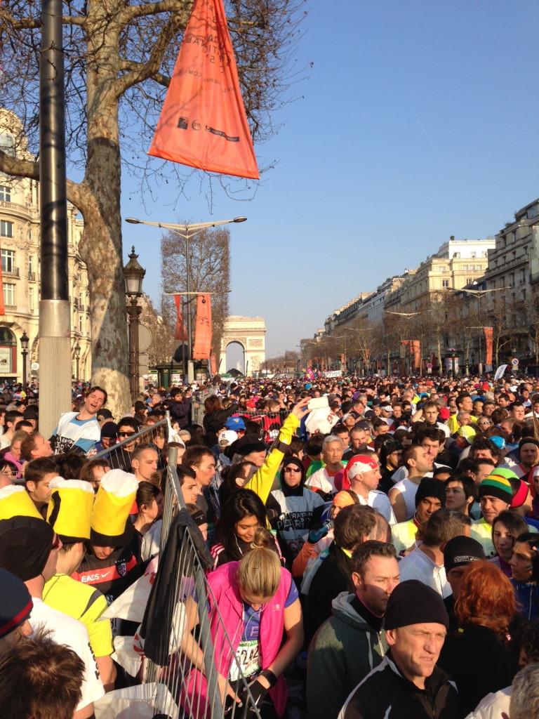2013 Paris Marathon Start
